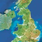 UK seen from Space